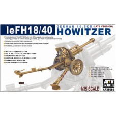 GERMAN 10.5cm LE FH18/40 HOWITZER AFV 1/35