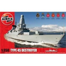 TYPE 45 DESTROYER AIRFIX 1/350