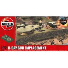 D-DAY GUN EMPLACEMENT AIRFIX 1/72