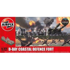 D-DAY COASTAL DEFENSE FORT AIRFIX 1/72