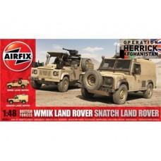 WMIK LAND ROVER SNATCH LAND ROVER AIRFIX 1/48