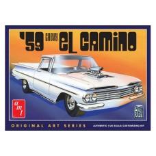 59 CHEVY EL CAMINO AMT 1/25