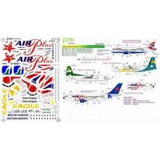 DECAIS PARA A319/320 BA/ F-27 / A310 APC FCM 1/144