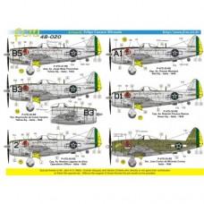 DECAIS PARA P-47D FAB  TARQUINIA 1944 FCM 1/48