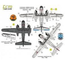 DECAL PARA S-2E/G TRACKER ARGENTINA E PERU PARTE 03 FCM 1/48