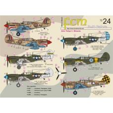 DECAIS PARA P-40 GALORE FCM 1/72
