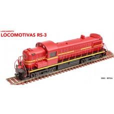 LOCOMOTIVA RS-3 RFFSA FASE I - FRATESCHI HO