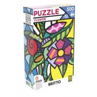 PUZZLE 500 - ROMERO BRITTO - FLOWER - GROW