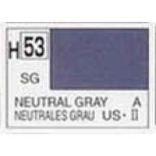 GUNZE AQUEOUS HOBBYCOLOR 10 ml SEMIGLOSS NEUTRAL GRAY