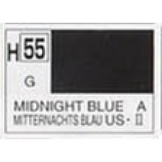 GUNZE AQUEOUS HOBBYCOLOR 10 ml GLOSS MIDNIGHT BLUE