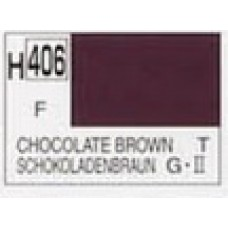 GUNZE AQUEOUS HOBBYCOLOR 10 ml CHOCOLAT BROWN