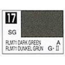 GUNZE MR. COLOR 10 ml  SEMIGLOSS DARK GREEN RLM 71