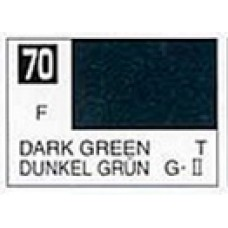 GUNZE MR. COLOR 10 ml  FLAT DARK GREEN