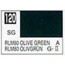 GUNZE MR. COLOR 10 ml  SEMIGLOSS OLIVE GREEN RLM 80
