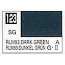 GUNZE MR. COLOR 10 ml  SEMIGLOSS DARK GREEN RLM 83