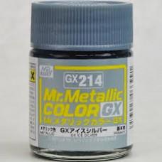 GUNZE MR. METALLIC COLOR 18 ml  METAL ICE SILVER