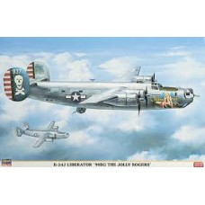 B-24J 90BG THE  JOLY ROGERS LIMITED EDITION HASEGAWA 1/72