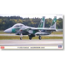 F-15DJ EAGLE AGRESSOR 2010 LIMITED EDITION  HASEGAWA 1/72