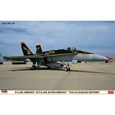 F/A-18C/E HORNET VFA-115 EAGLES HISTORY HASEGAWA 1/72