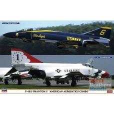 F-4E/J THUNDERBIRDS/BLUE ANGELS COMBO HASEGAWA 1/72