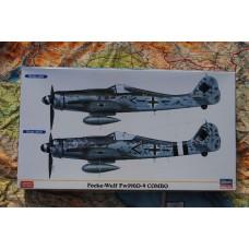 FOCKE WULF FW 190D-9 COMBO LIMITED EDITION HASEGAWA 1/72