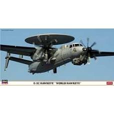 EC-2 HAWKEYE WORLD HAWKEYE LIMITED EDITION HASEGAWA 1/72