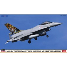 F-16 AM/BM FIGHTING FALCON ROYAL NORWERGIAN AIR FORCE TIGER MEET 2010 HASEGAWA 1/72