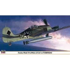 FOCKE WULF FW 190A-5/U14W/ TORPEDO LIMITED EDITION HASEGAWA 1/48