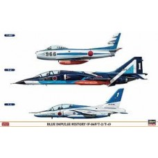 BLUE IMPULSE F-86/T-2/T-4 COMBO LIMITED EDITION HASEGAWA 1/48