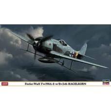 FOCKE WULF FW 190A-8 W/BV246 HAGELKON LMT ED HASEGAWA 1/48