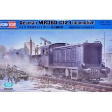 GERMAN WR360 C12 LOCOMOTIVE HOBBY BOSS 1/72