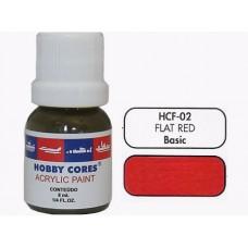HOBBYCORES  FLAT RED  - 8ml