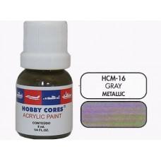 HOBBYCORES METALLIC GRAY - 8 ml