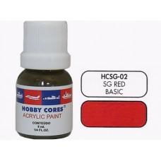 HOBBYCORES SEMIGLOSS RED - 8 ml