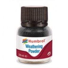 WEATHERING POWDER BLACK 28 ml HUMBROL