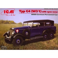 TYP G4 W31 WITH OPEN COVER ICM 1/35