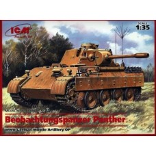 BEOBACHTUNGSPANZER PANTHER WWIIGERMAN MOBILEARTILLERYOP ICM 1/35