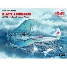 U-2/Po-2 WITH PODS ICM 1/48