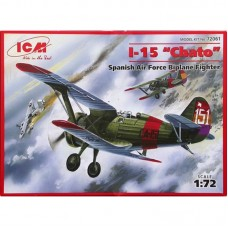 I-15 CHATO SPANISH AIR FORCE BIPLANE FIGHTER ICM 1/72