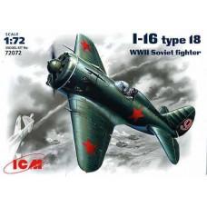 I-16 TYPE 18 ICM 1/72