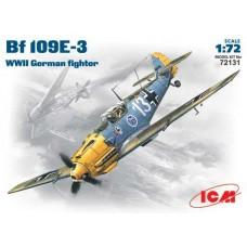 Bf 109E-3 ICM 1/72
