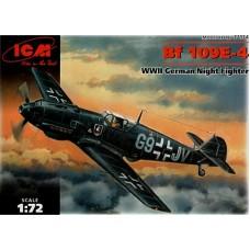 Bf 109E-4 ICM 1/72