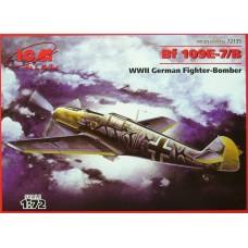 Bf 109E-7/B ICM 1/72