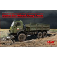 SOVIET SIX-WHEEL ARMY TRUCK ICM 1/35
