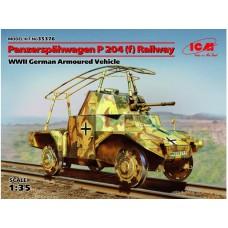 PANZERSPAHWAGEN P204(f) RAILWAY ICM 1/35