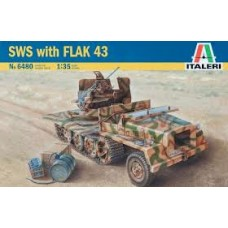 SWS WITH FLAK 43 ITALERI 1/35