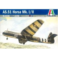 AS.51 HORSA Mk. I/II ITALERI 1/72