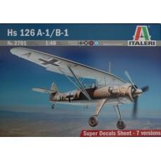 Hs 126 A-1/B-1 ITALERI 1/48