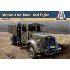 MEDIUM 3Ton TRUCK - COAL ENGINE ITALERI 1/35