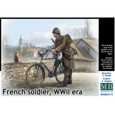 FRENCH SOLDIER WWII ERA MASTER BOX 1/35